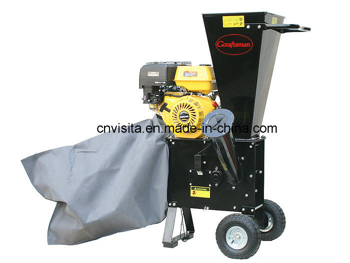 15HP Petrol Chipper Shredder Garden Shredder Wood Chipper