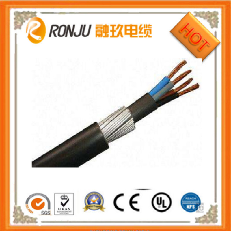 China Copper (Aluminum) Core Thin Steel Wire Armored Free Flame ...