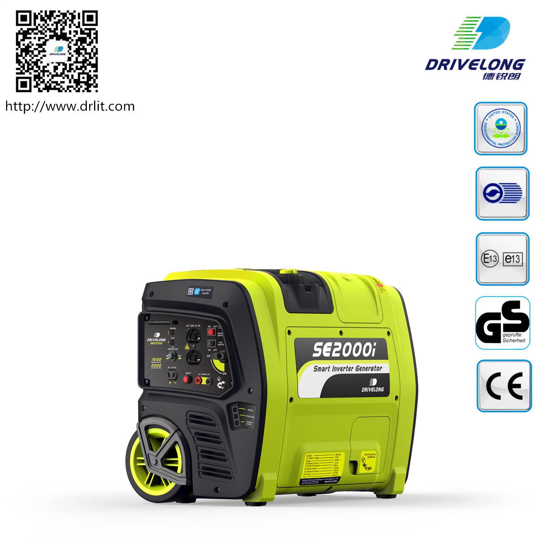 2kw Gasoline Portable Inverter Generator with GS/Ce/ETL/EPA/Carb/E13