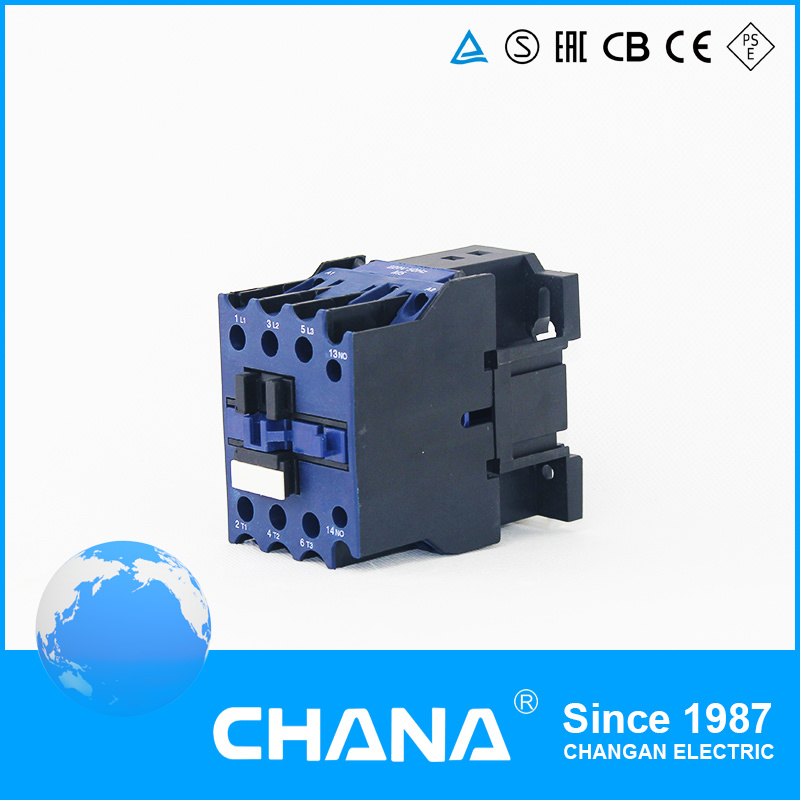 Multiple Coil AC/DC 32A 3no+1nc Industrial Contactor