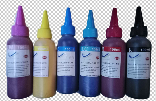 Refillable Dye Sublimation Ink for Textile Printing Fabric