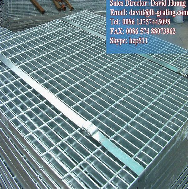 Hot DIP Galvanized Webforge Grating for Trench Cover