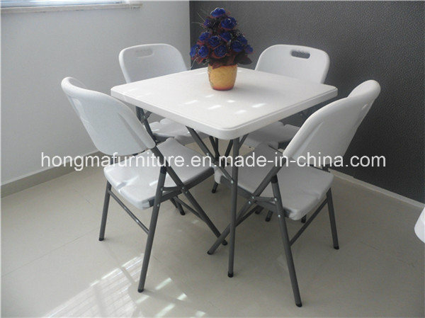 Popular Outdoor Furniture of Square Table for Camping Use