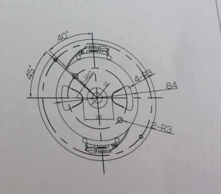 Vacuum Cleaner Motor, AC Motor ((HCX-H24))