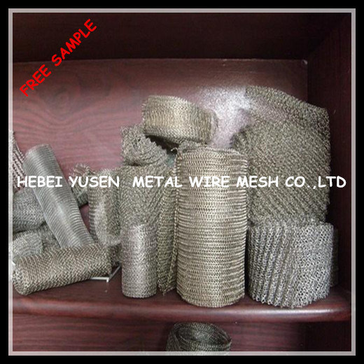 Air Gas Liquid Knitted Shielding Wire Mesh