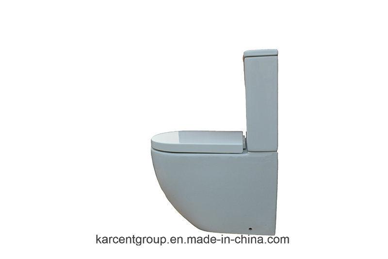Two Piece Ceramic Toilet Washdown Toilet Water Closet Wc 00151
