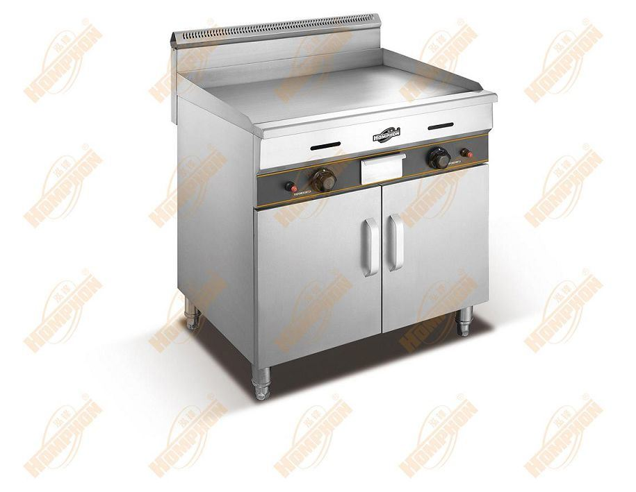 Vertical Flat Griddle with Cabinet (750/c)