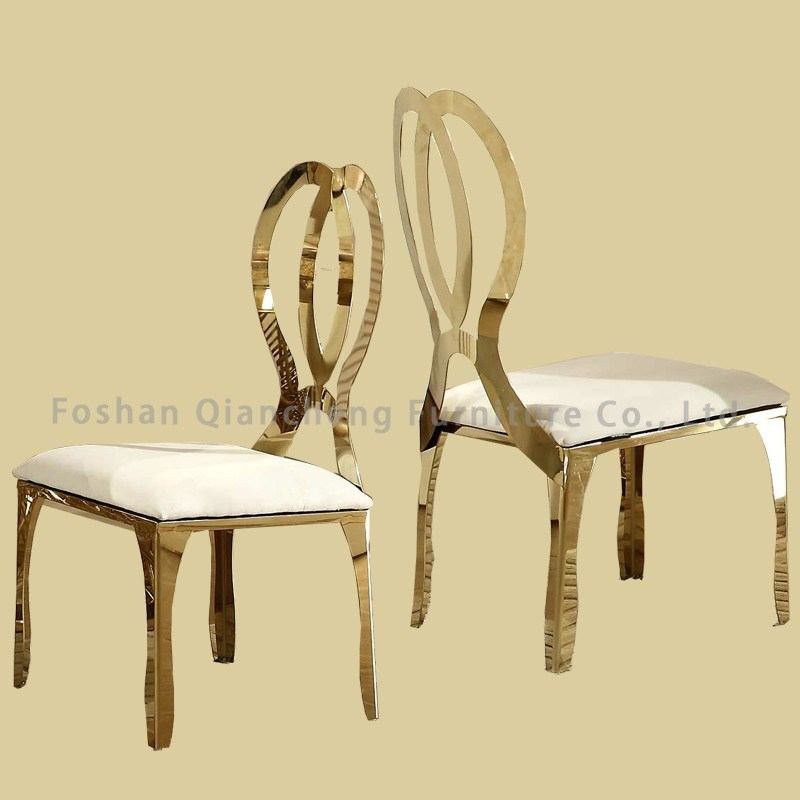 Top Rated Furniture Golden Wedding Chair Dining Chair