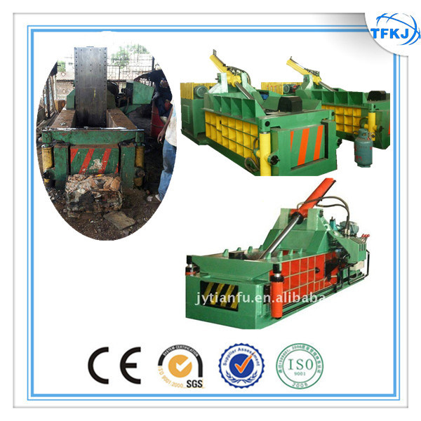 Y81q 1350 Forward Push out Metal Recycling Machine Hydraulic Baler for Ubc