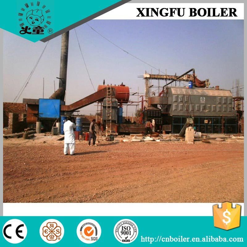 Industrial Rice Husk Fired Biomass Steam Boiler