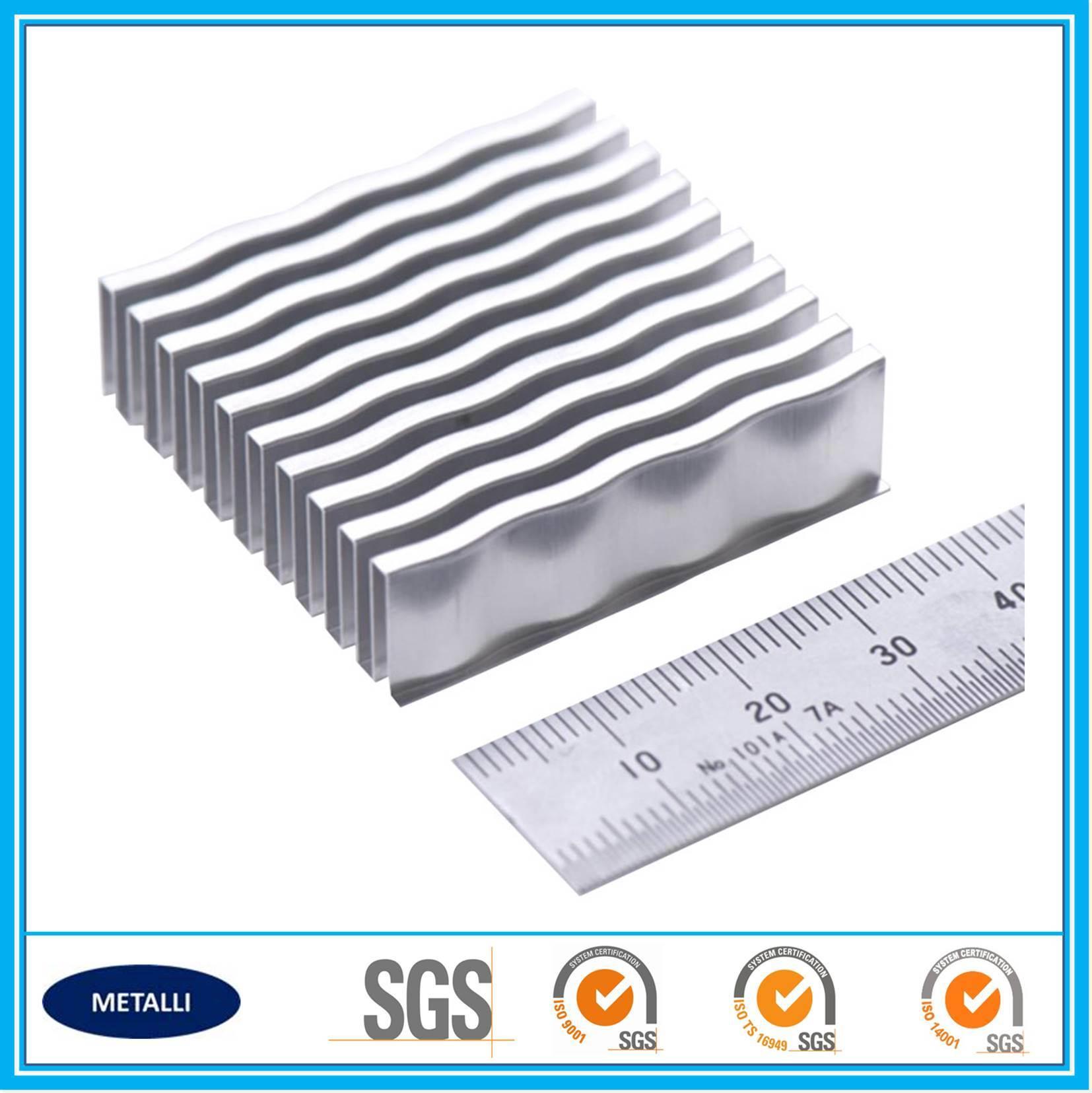 Aluminum Wavy Fin