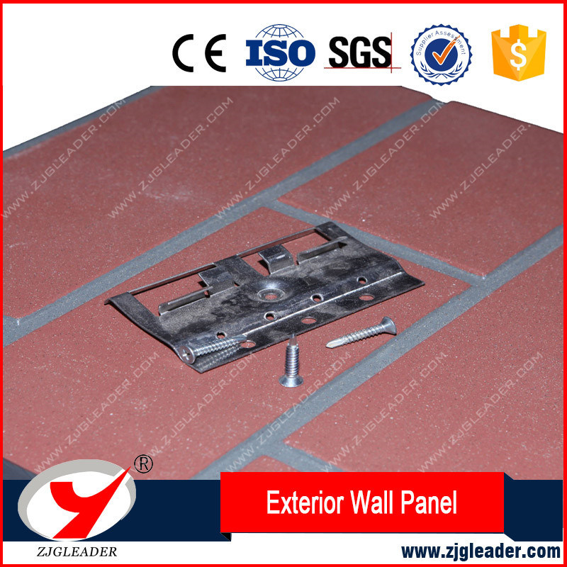 Wall Panel Decoration Fireproof Fiber Cement External Cladding