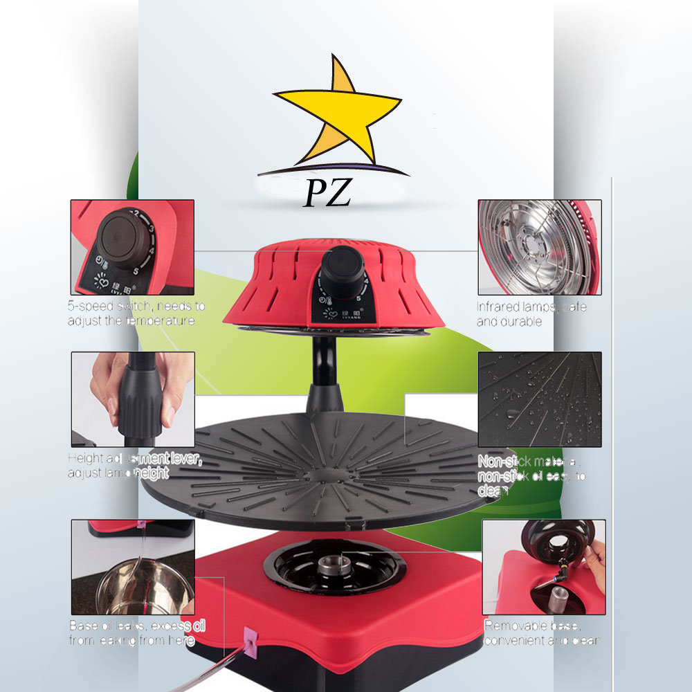 Hot Sale Fully Automatic Infrared BBQ Grill (ZJLY)