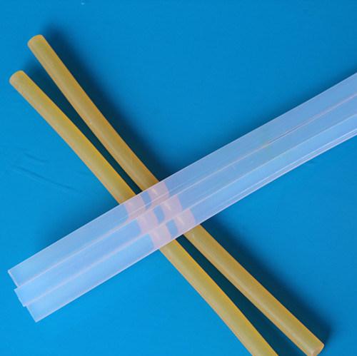 Milky White Silicon Adhesive Hot Glue Stick for PVC