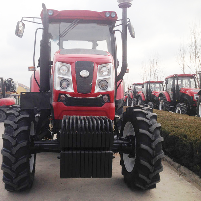 73.5kw/100HP Farm Tractor with F16+R8 Shuttle Gear Shift