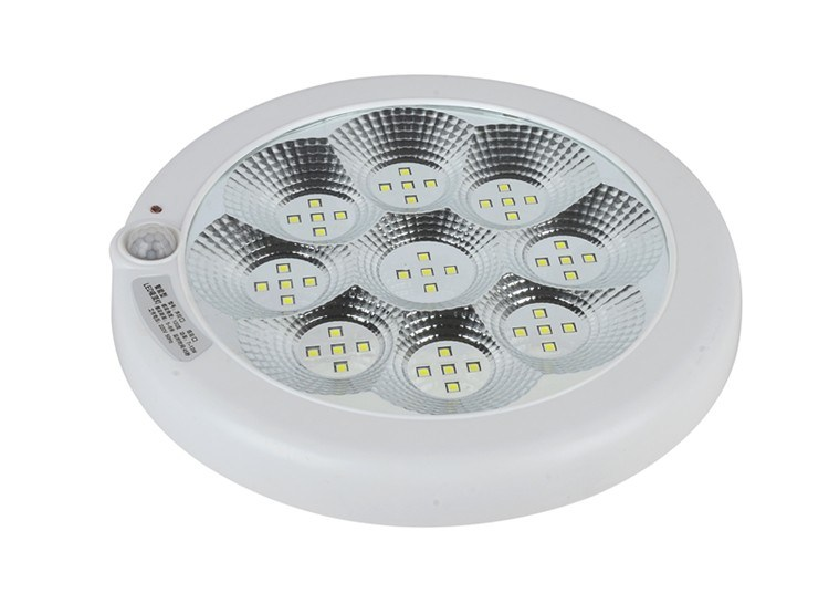 Ni-CD Battery 3.6V Ceiling PIR Motion Sensor LED Emergency Light