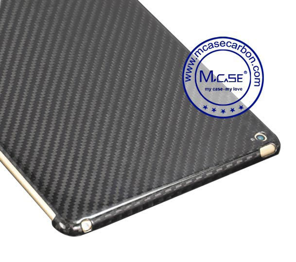 High Quality Real Carbon Fiber Tablet Case Cover for iPad Air 2