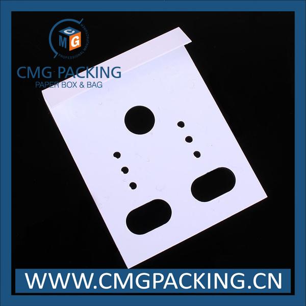 Plastic Card Custom Made Jewelry Display Tag (CMG-111)