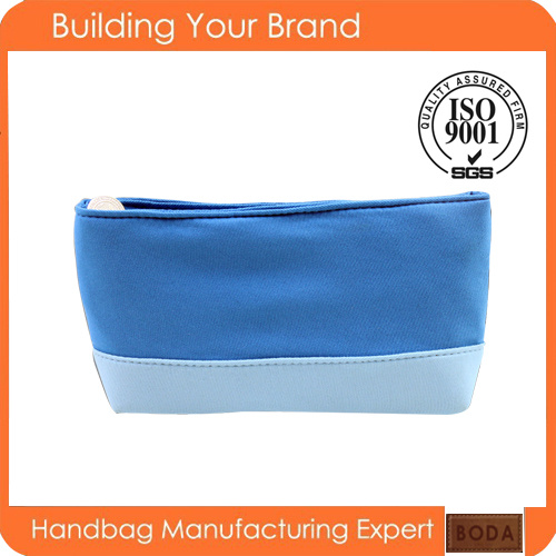 Custom Wholesale Printed Cotton Fashion Makeup Cosmetic Bag