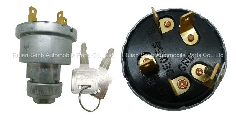 Ignition Switch with Anti-Restart Function for Caterpillar 3e0156