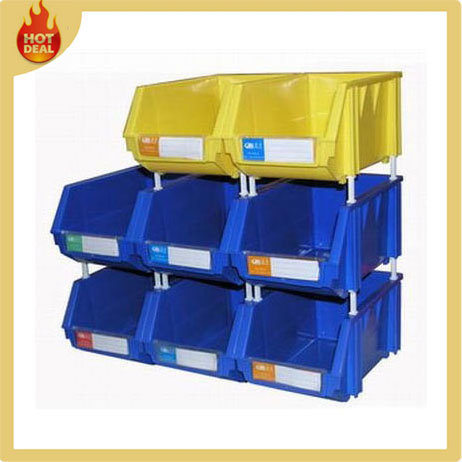 Electronic Spare Parts Plastic Storage Boxes