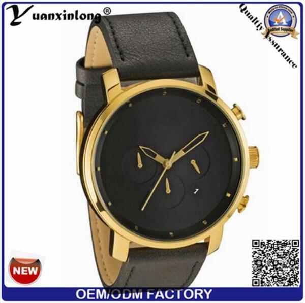 Yxl-930 New Luxury Brand Simple Quartz Sport Watches Men Military Casual Leather Fashion Watch Men′s Waterproof Relogio Masculino