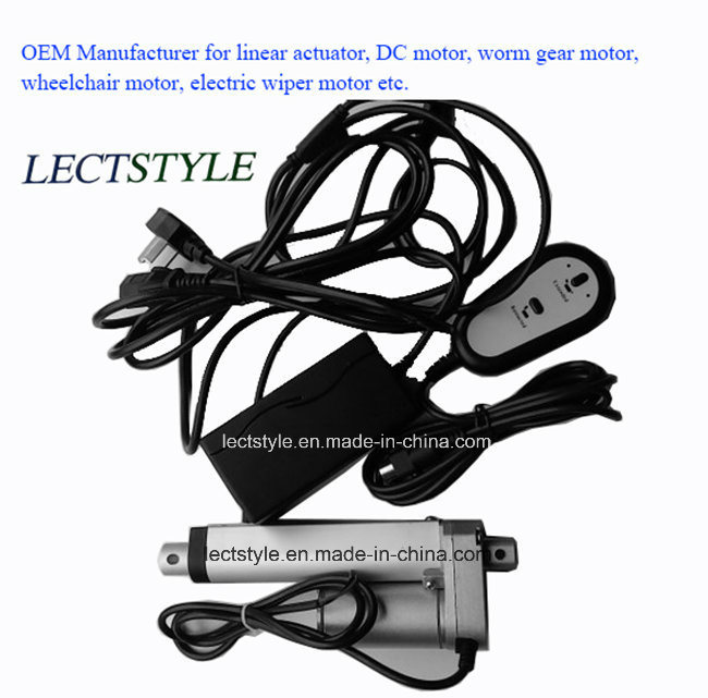 """12V/24V 4""""6"""" 8"""" 10"""" Electrical Linear Actuator for Electric Hospital Bed"""