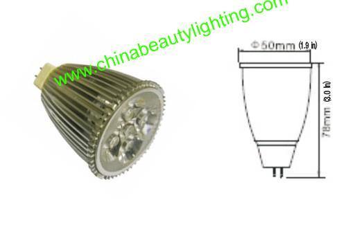LED Lighting 7W PAR20 COB LED Spot Light