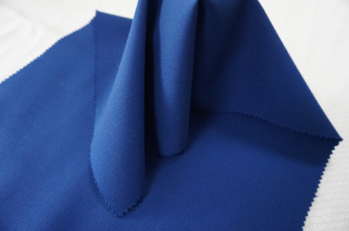 Blue Wool Fabric for Suit Twill