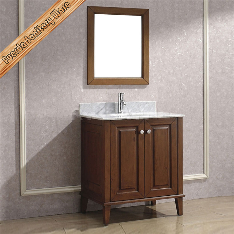 Fed-1807 High Quality Solid Wood Bathroom Vanity, Bathroom Cabinet