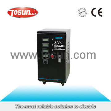SVC Automatic Three Phase Voltage Stabilizer