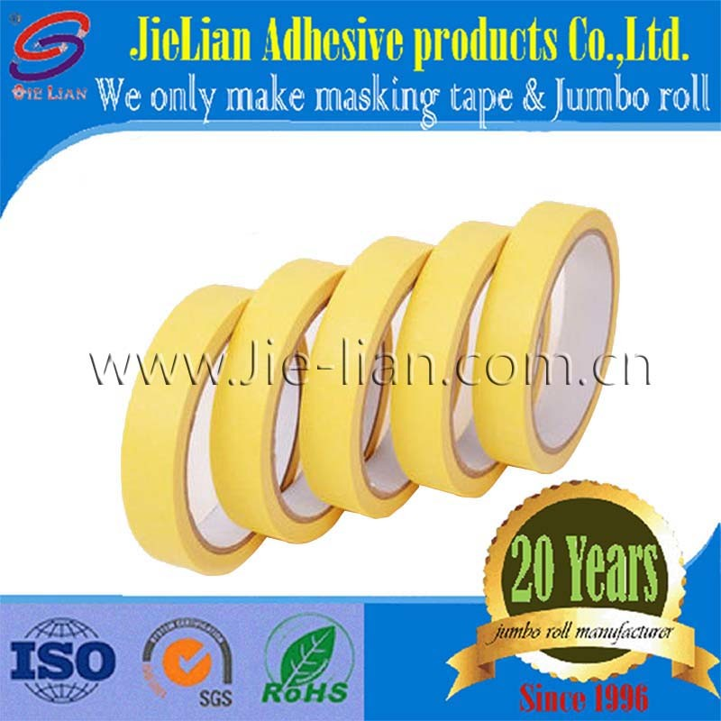 China High Stick Masking Tape for Spray Painting