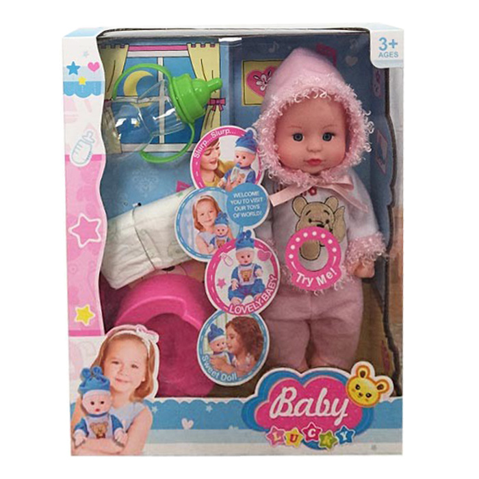 16 Inch Lovely Vinyl Lifelike Reborn Toy Doll (10252795)