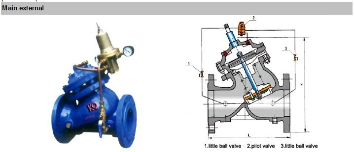 Use for Water Tank Float Control Valve