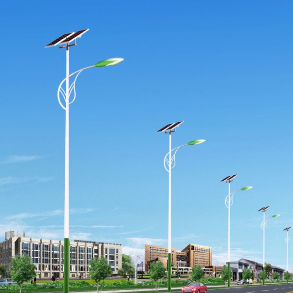 10m 12m 70W 80W 90W 100W LED Solar Street Light