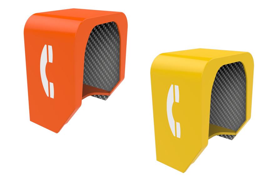 Noise Acoustic Hoods, Outdoor Phone Hoods, Sound-Proof Hood