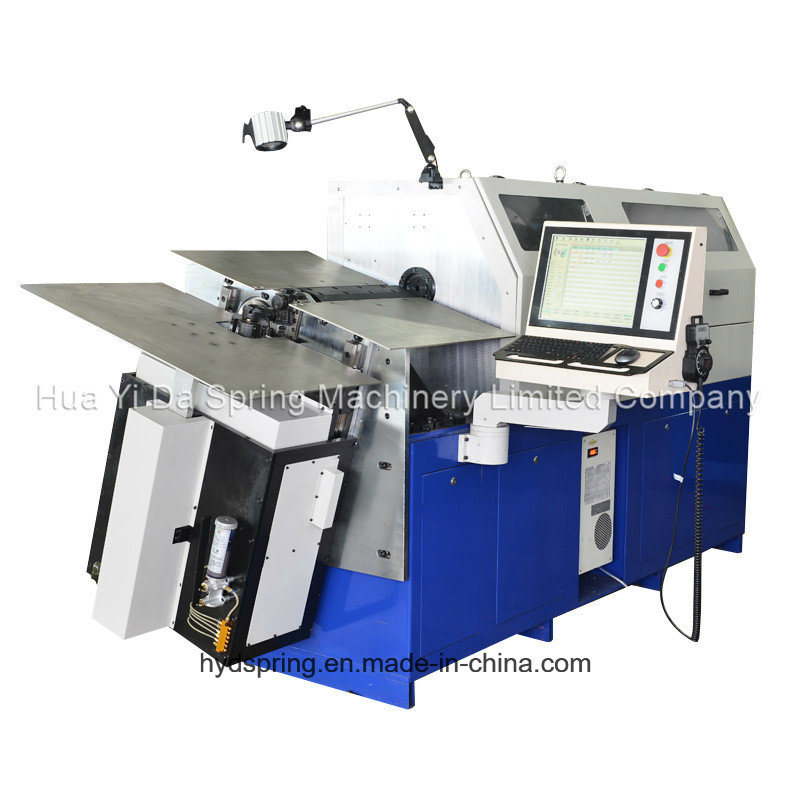 Hyd-80-8A Automatic CNC Wire Forming Machine with 7 Axis Spring Machine