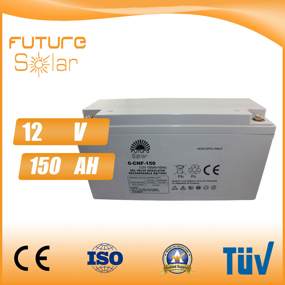 Futuresolar Lead Acid Battery 12V 150ah Solar Panel Rechargeable Battery
