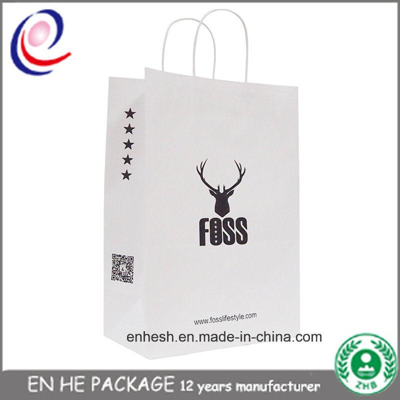 Custom Made Kraft Paper Bag Luxury Paper Gift Bag