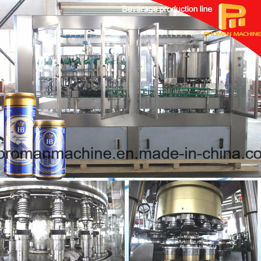Beer Canning Aluminum Can Filling Machine