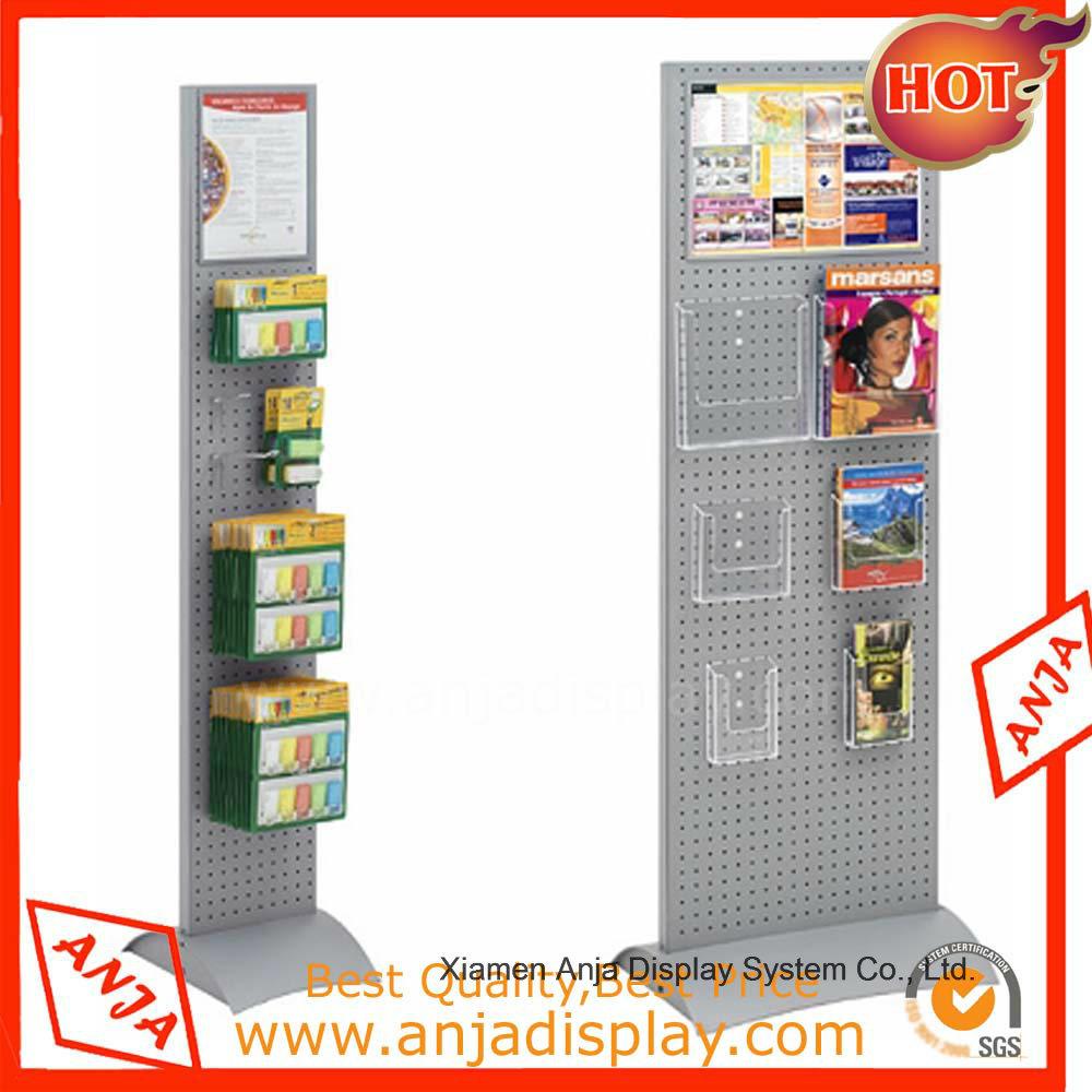 Metal Magazine Display Rack Wire Display Rack
