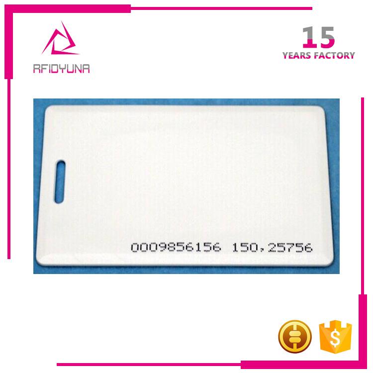 Access Control Card Printing Em4100 Tk4100 125kHz RFID Smart Card