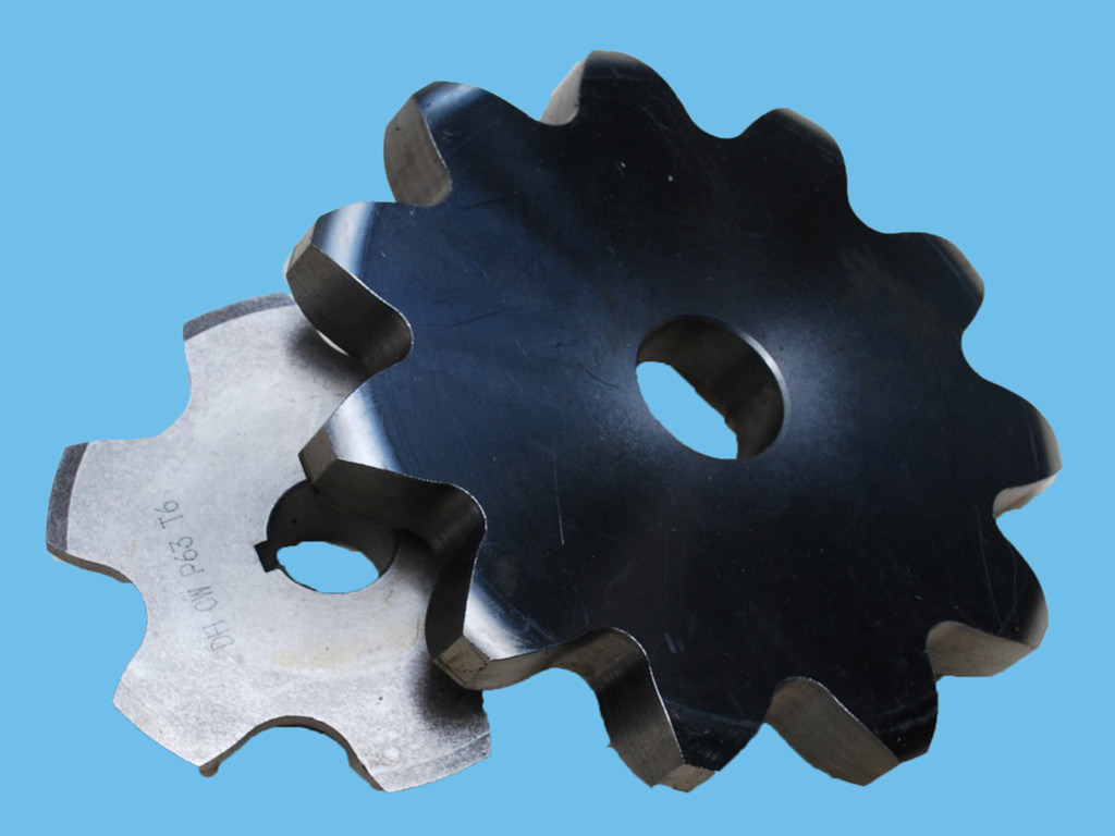 Stainless Steel Industrial Sprocket Wheel (DIN, ISO 12A-1) , C35
