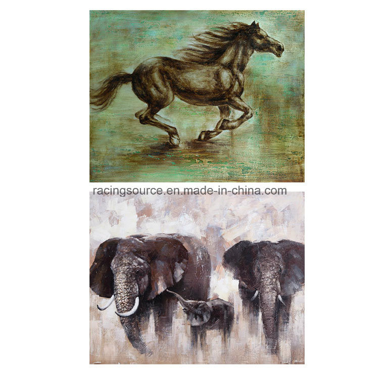 Wall Decor Printing Canvas Abstract Animal Oil Canvas Painting
