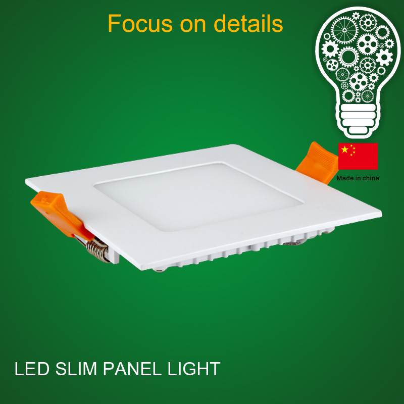 2017 LED Panel Light Panel LED Panel Light 18W Square Bis Approved