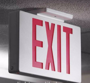 Emergency Light, Emergency Exit Sign, LED Emergency Light, LED Sign,