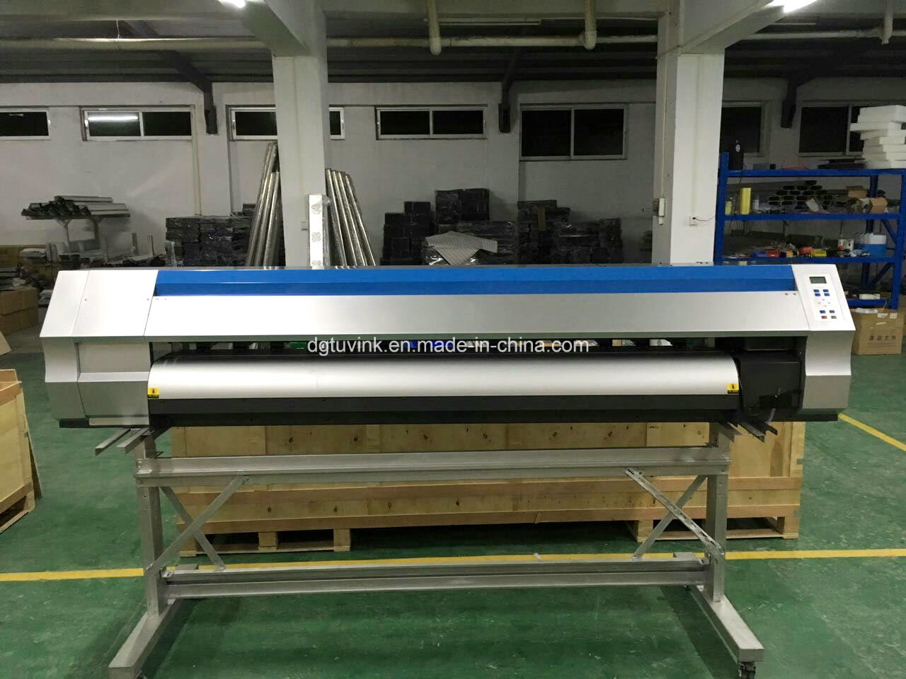 1.8m 1440dpi Eco Solvent Printing Machine Flex Banner /Vinyl /Sticker Advertising Printer with Original Dx5 Dx7 Print Head