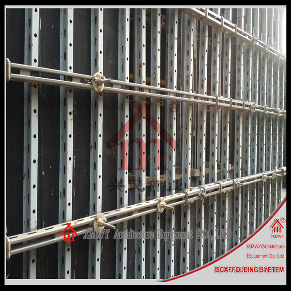 More Modular Versatile Quicker Lighter and Easier to Use Concrete Wall Formwork System