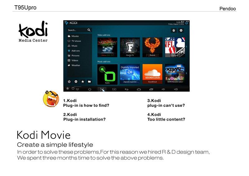 Android Smart TV Box Full HD Media Player T95u PRO S912 2g/16g 2.4&5 GHz Dual WiFi Kodi Smart TV