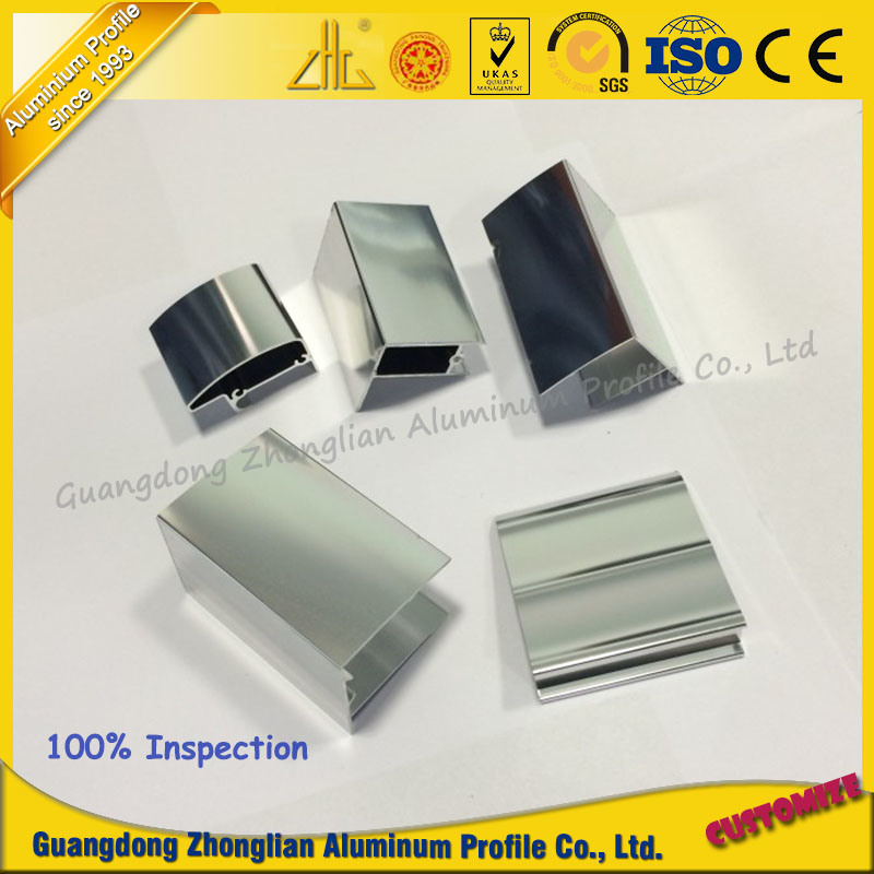 Aluminum in Aluminum Extrusion Profile with Poilshing Surface
